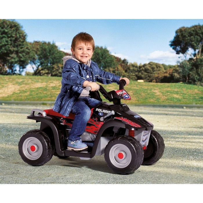 Peg Perego Peg Perego Polaris Sportsman 400 6v Kids Ride-On Quad Bike IGED1106