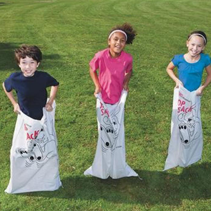Polyester Hop Potato Sacks Race Game for Kids - Set of 12 - Kids Car Sales