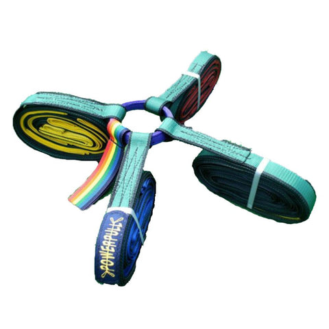 PowerPull 12m 4-Way Tug of War Rope With Pull Loops (20-40 Players)
