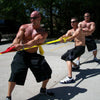 Image of PowerPull Tug of War Rope Team Game with Pull Loops (20-40 Players)