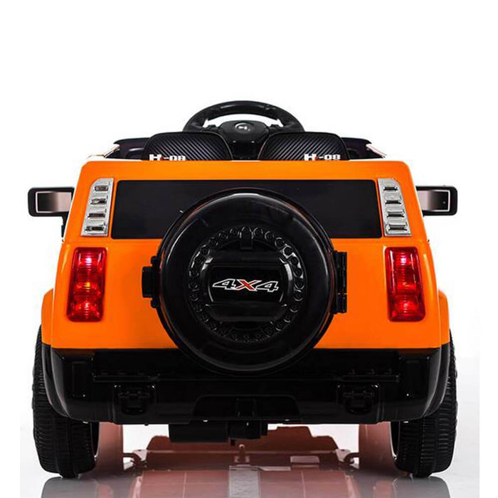 Kids Car Sales Hummer Style 6v Kids Ride-On Car w/ Remote - Orange BJ1658-ORA