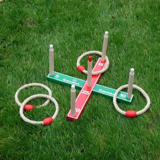 Quoits Ring Toss Throwing Game - Kids Car Sales