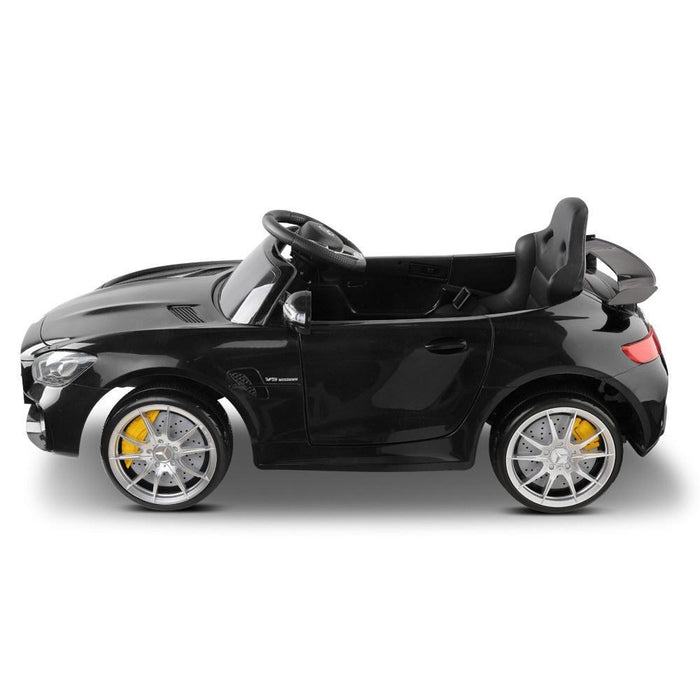 Mercedes-AMG GT R Licensed 6v Kid's Ride-On Car – Black