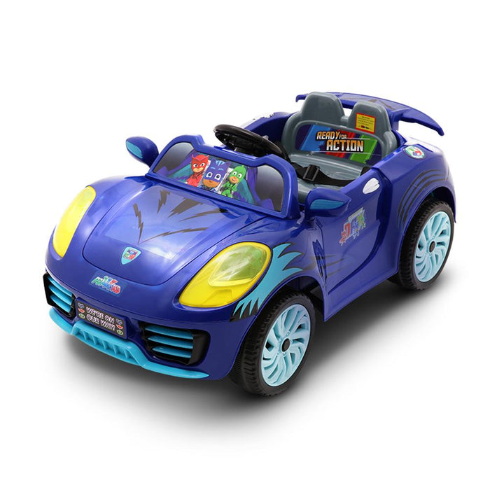 PJ Masks Catboy Catcar Disney 6v Electric Ride On Car Kids Car - Kids Car Sales - kidscarsales.com.au