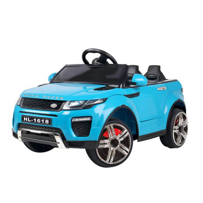 Unbranded Range Rover Evoque Inspired Blue 12v Ride-On Kids Car RCAR-EVOQUE-BU