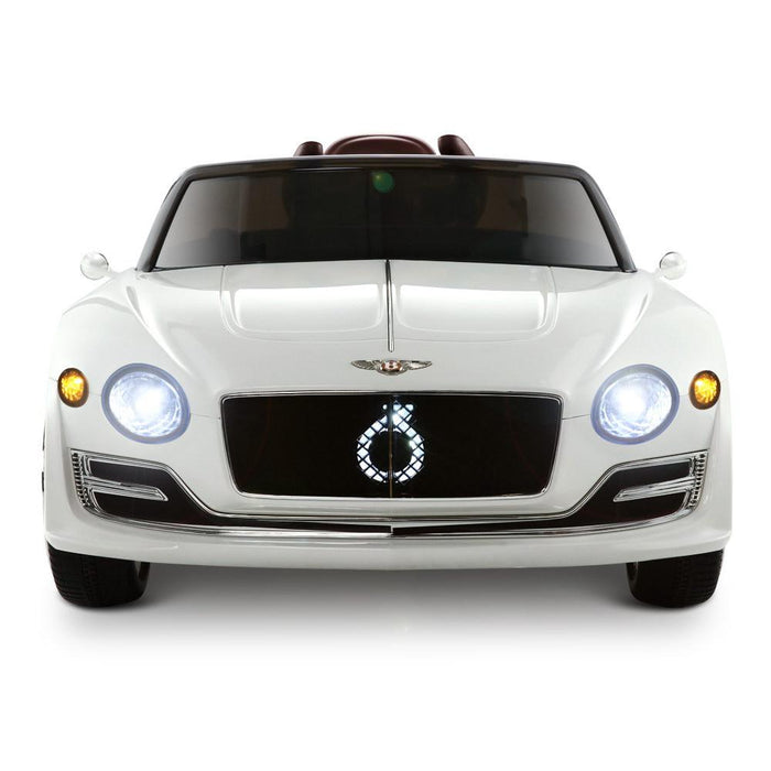 Unbranded Bentley Style XP12 White Inspired 12v Kids Ride-On Car DSZ-RCAR-EXP12-WH