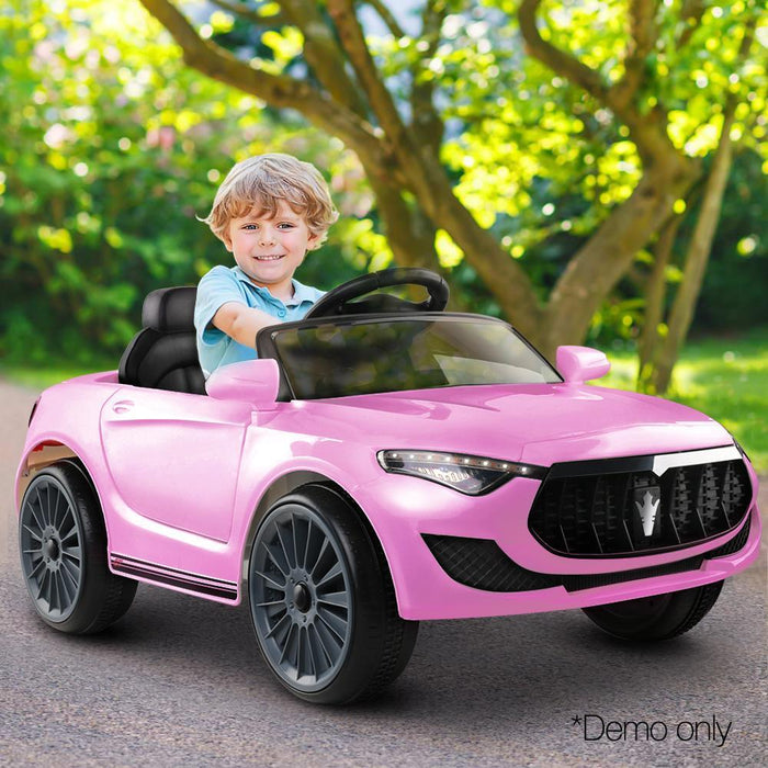 Maserati Inspired 6v Kids Ride On Car - Pink - Kids Car Sales