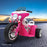 Kids Electric 6v White 3-Wheel Chopper-Style Pink Ride-On Motorbike - Kids Car Sales