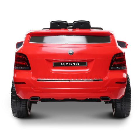 Mercedes Benz ML450 Inspired Red 6v Ride-on Kids Car