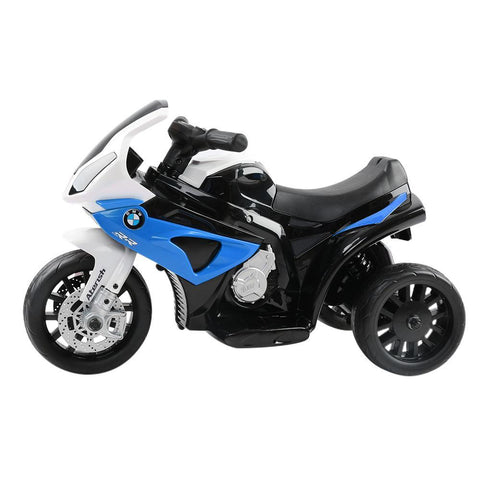 BMW S1000RR Inspired Blue 6v Electric Kids Ride-on Motorbike - Kids Car Sales