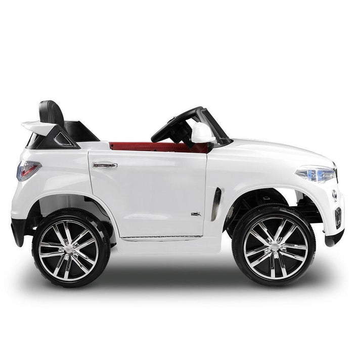 Unbranded BMW X5 Inspired 12v Kids Ride On Car - White DSZ-RCAR-X5-S-WH