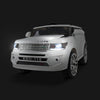 Image of Land Rover Inspired White 12v Ride-On Kids Car - Kids Car Sales