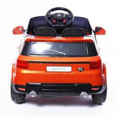 Range Rover Sport Inspired Orange 12v Ride-On Kids Car