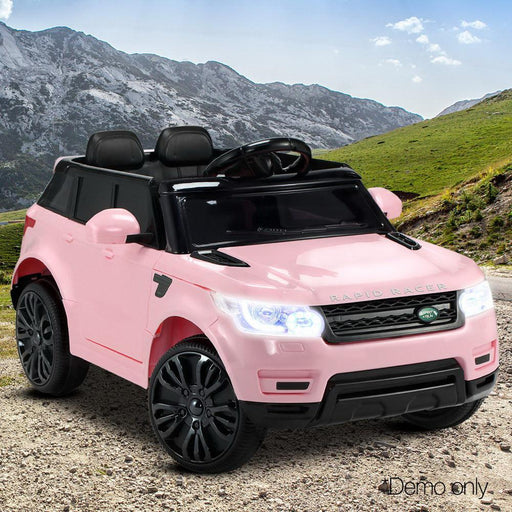Range Rover Sport Inspired Pink 12v Ride-On Kids Car - Kids Car Sales