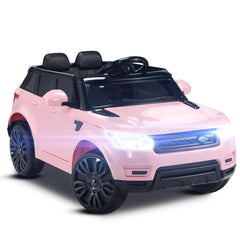 Image of Range Rover Sport Inspired Pink 12v Ride-On Kids Car