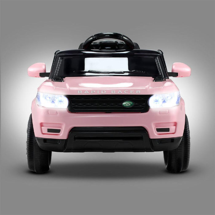 Range Rover Sport Inspired Pink 12v Ride-On Kids Car