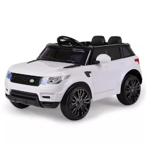 Range Rover Sport Inspired White 12v Ride-On Kids Car
