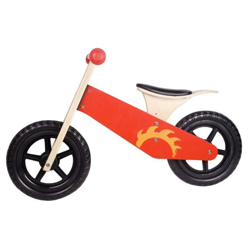 Red Wooden Kids Balance Bike By Classic World - Kids Car Sales