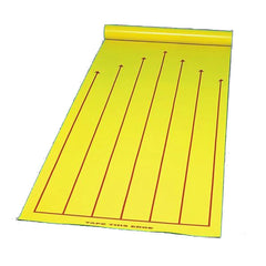 Roll-Up 2-in-1 Portable Bowling Lane and Shuffleboard Court