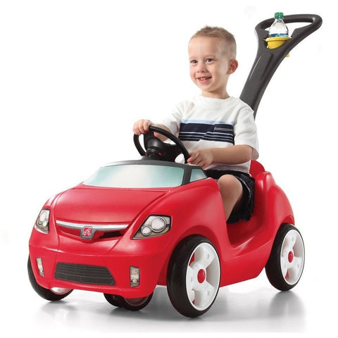 Step2 Easy Steer Sportster Push Along Kids Ride On Car
