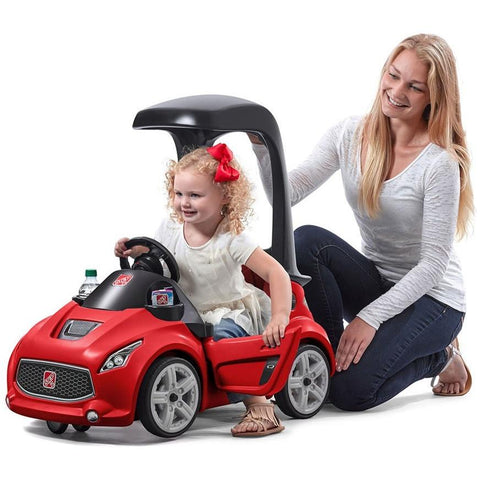 Step2 Turbo Coupe Foot-to-Floor Kids Ride On Push Car