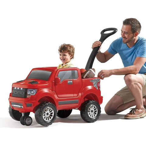 Step2 2-in-1 Ford F-150 SVT Raptor Kids Ride On Truck