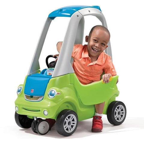 Step2 Easy Turn Coupe Green Kids Ride On Push Car