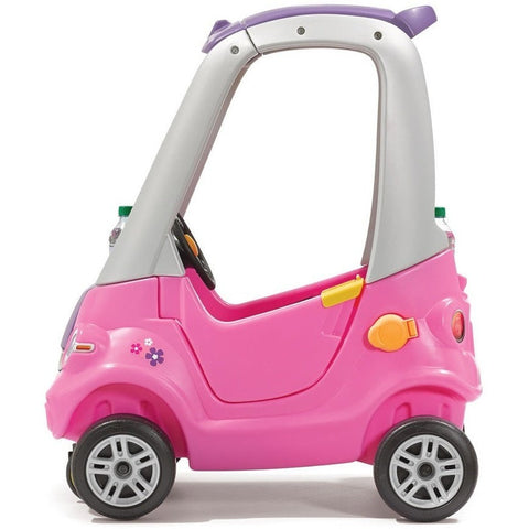 Easy Turn Coupe Pink Kids Ride On Push Car