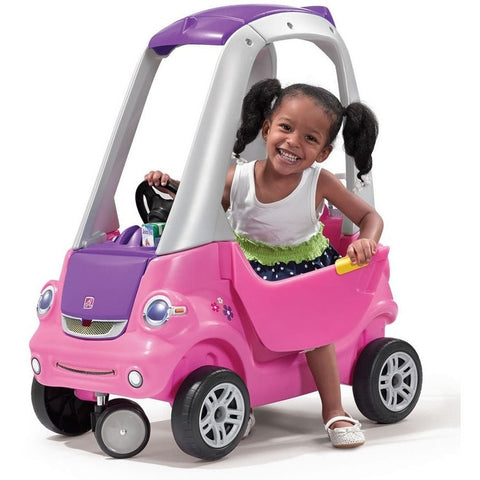 Step2 Easy Turn Coupe Pink Kids Ride On Push Car