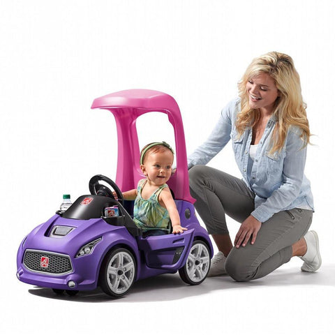 Turbo Coupe Foot-to-Floor Kids Ride On Push Car