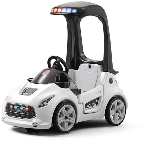 Step2 Turbo Interceptor Foot-to-Floor Toddlers Police Car