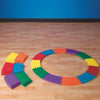 Image of Soft Foam Modular Rainbow Balance Builder Mats