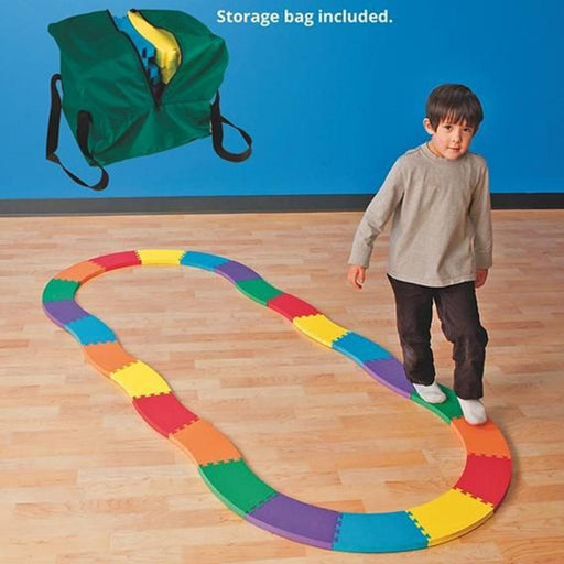 Soft Foam Modular Rainbow Balance Builder Mats - Kids Car Sales