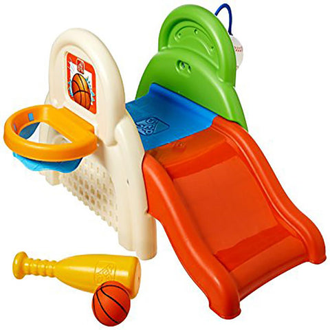 Step2 Sportsastic Activity Center Slide, Dunk, Kick & Climb
