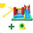 Surrey 2 Slide and Splash Inflatable Jumping Castle with Water Pool - Kids Car Sales