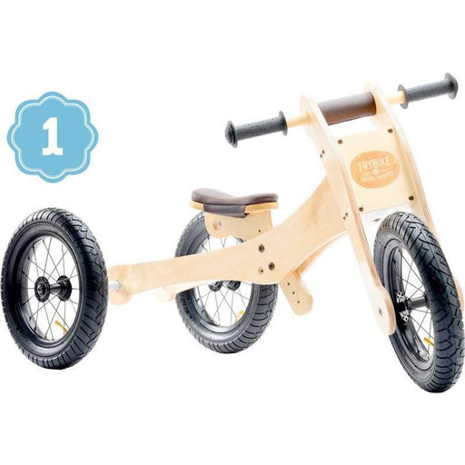 Trybike Wooden 4 in 1 Tricycle / Kids Trike / Balance Bike - Kids Car Sales