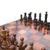 Image of Teak 60cm Timber Giant Chess Set