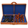 Image of Teak Board and Storage Case for 20cm Teak Chess Pieces