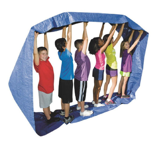 Team Building Running Mat Game - Blue