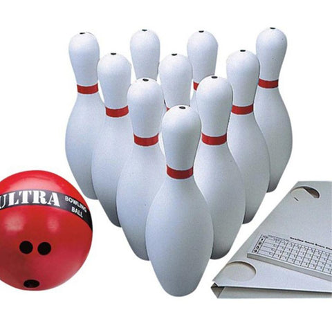Ten-Pin Regulation Size Bowling Set with 1.2kg Ball