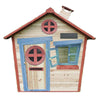 Image of The Redwood Mansion Wooden Kids Cubby House
