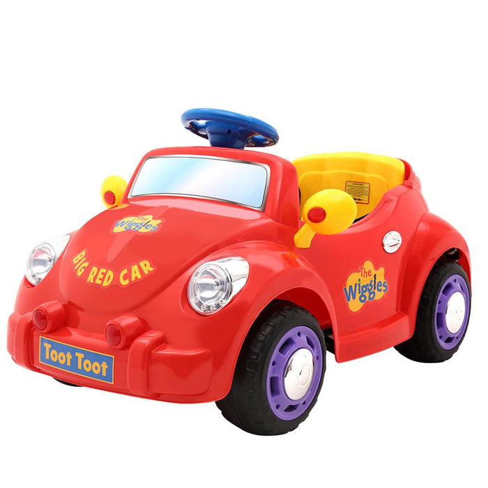 The Wiggles Big Red Car Kids Ride On Car - Kids Car Sales