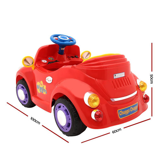 Unbranded The Wiggles Big Red Car Kids Ride On Car RCAR-D-WIGGLES