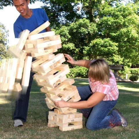 Timber Hi-Tower Giant Tumbling Blocks