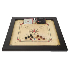 Tournament Carrom Board Game Set by Uber