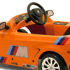 Image of Toys Toys BMW M3 GT Sports Orange 6v Single Seat Ride-On Kids Car