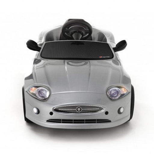 Toys Toys Jaguar XK EL Silver 6v Single Seat Ride-On Kids Car - Kids Car Sales