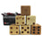 Uber Giant 9cm Wooden Dice - Pack of 6