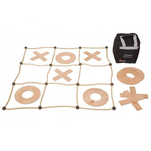 Uber Giant Sized Wooden Noughts and Crosses Game - Kids Car Sales