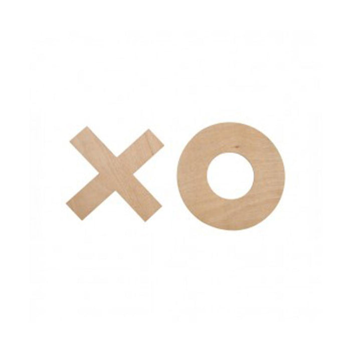 Uber Giant Sized Wooden Noughts and Crosses Game